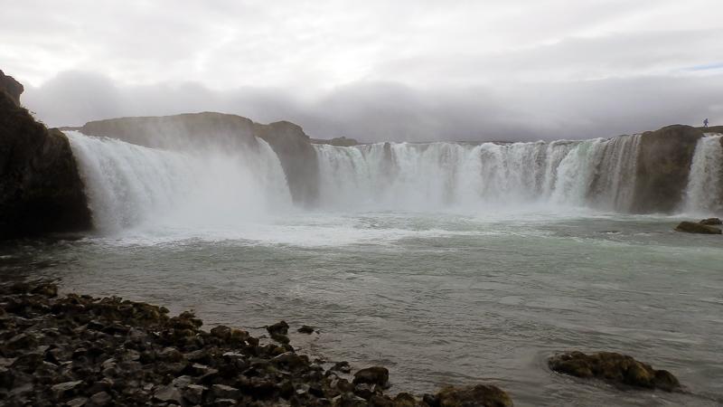 Circuit guidé en Islande, chute d'eau de Godafoss