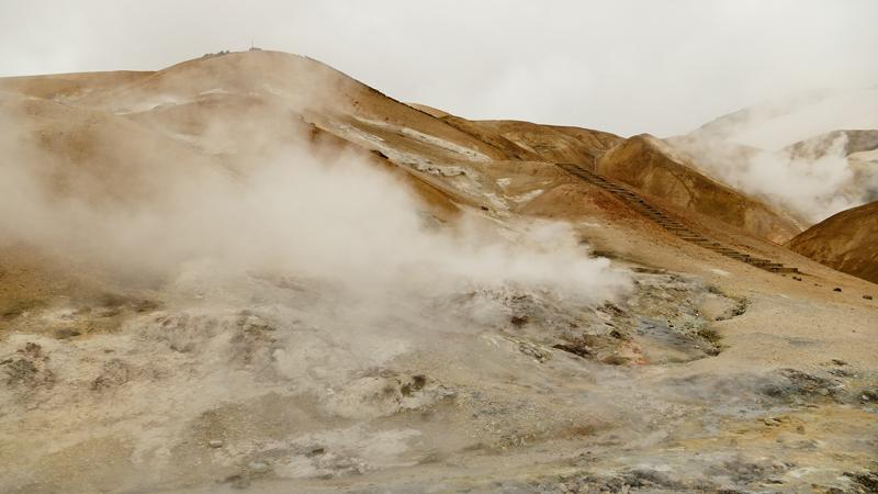 Circuit guidé en Islande, montagnes Kerlingarfjoll dans les hautes-terres