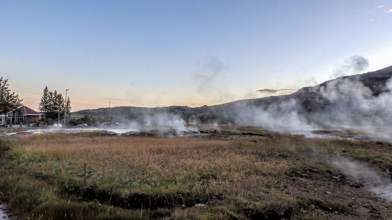 Circuit en Islande dans le Golden circle, site de Geysir