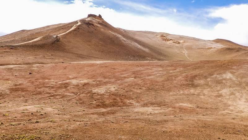 Circuit en Islande autour de Myvatn, zone géothermale de Hverarond