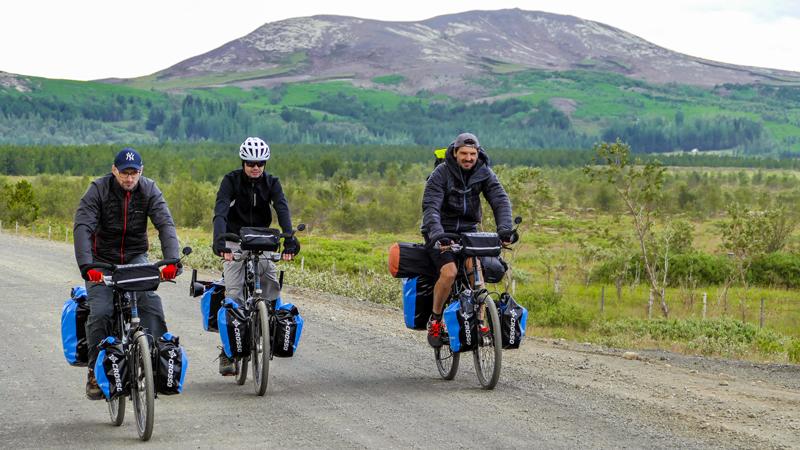 Islande à vélo, circuits à vélo en Islande