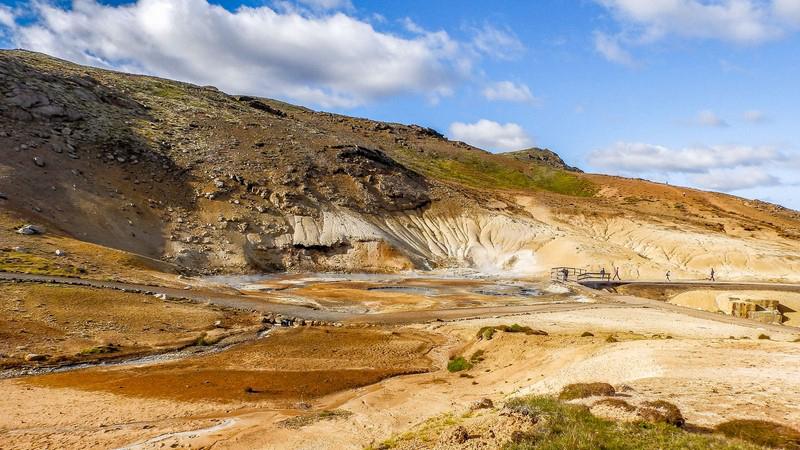 Krisuvik en Islande
