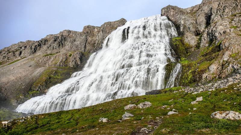 Circuit guidé Islande Highlands et Westfjords, dans les fjords de l'Ouest à Dynjandi