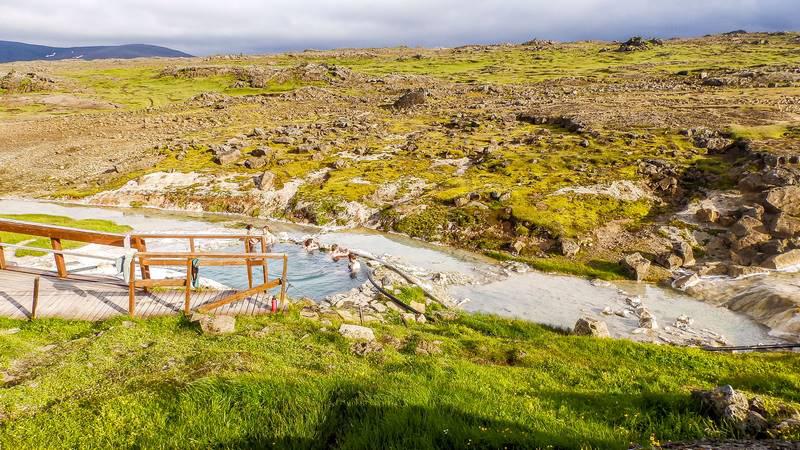Circuit guidé Islande Highlands et Westfjords, site de Hveravellir dans les highlands