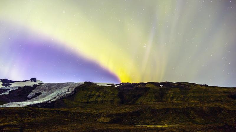 Circuit guidé Islande en hiver, observation d'aurores boréales dans le Sud