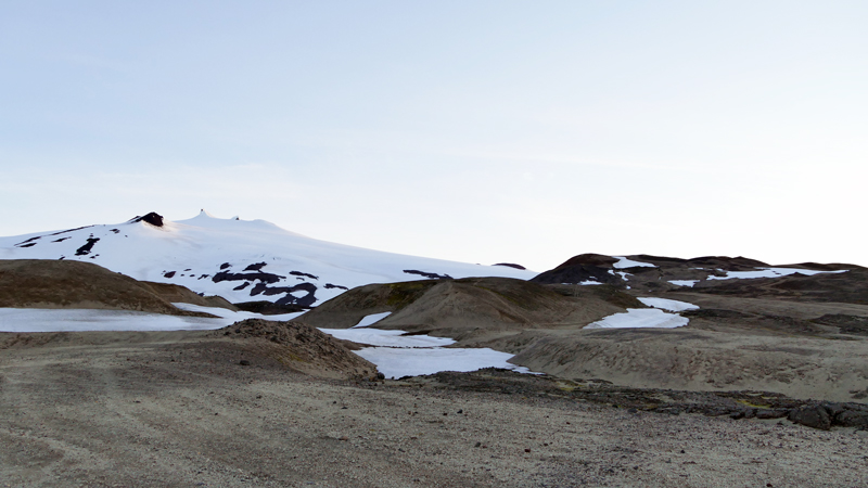 Circuit guidé Islande sur la péninsule de Snaefellsnes, volcan Snaefellsjokull