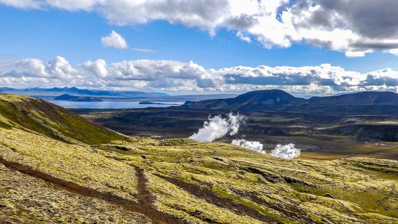 Circuit guidé en Islande dans le sud et l'Est, autour du lac de Pingvallavatn