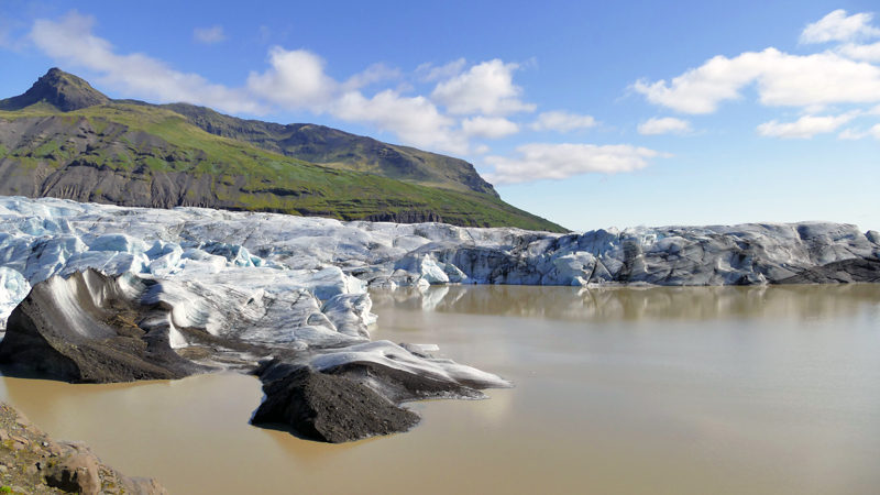 Circuit guidé en Islande sur mesure, glacier dans l'Est