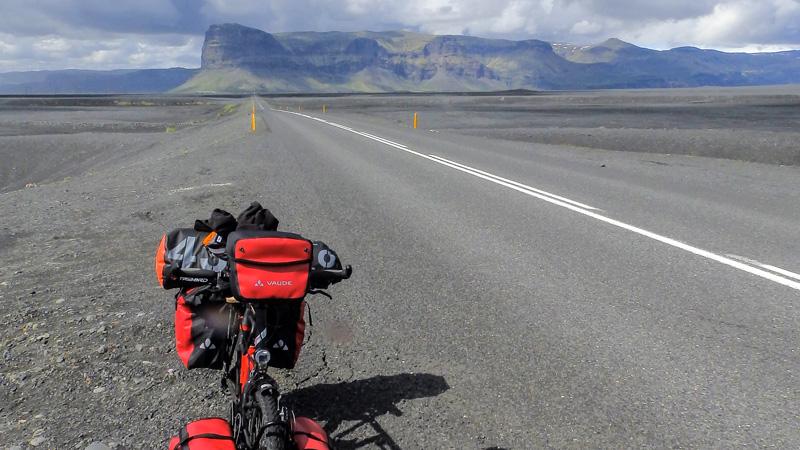 Islande à vélo du sud jusqu'aux fjords de l'Est, sur la route circulaire n°1