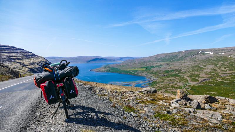 En Islande à vélo dans les westfjords
