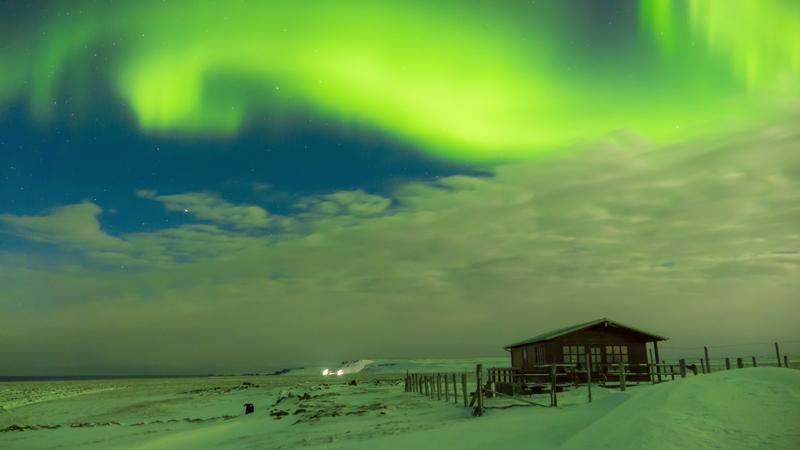 Circuit guidé en Islande, observation des aurores boreales