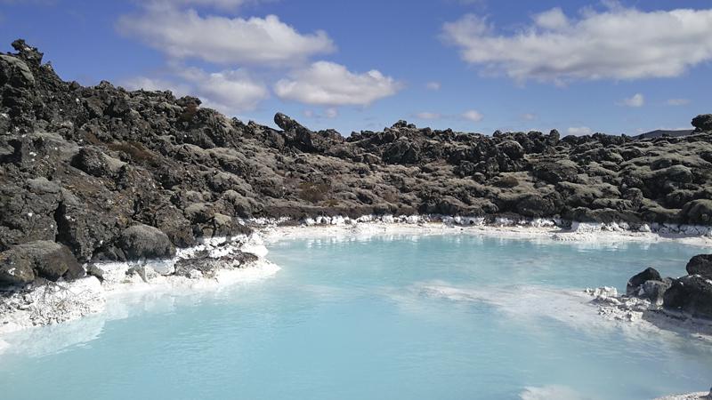 découverte du Blue Lagoon lors d'un circuit en Islande