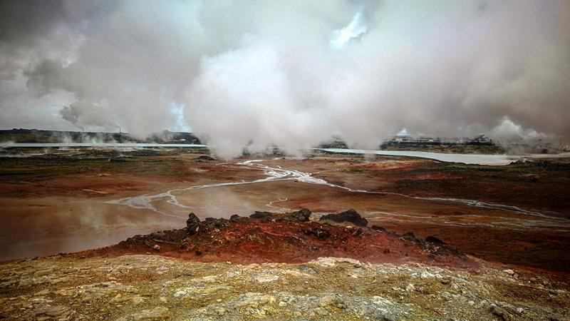 circuit en Islande sur la péninsule de Reykjanes
