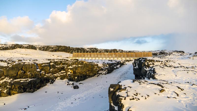 péninsule de reykjanes, en islande à vélo en hiver