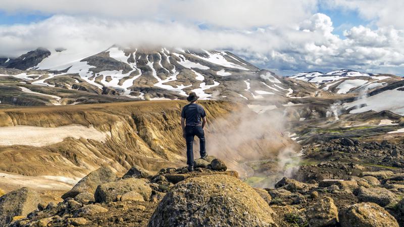 Randonnée à Kerlingarfjoll pendant un circuit en Islande