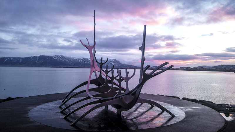 visite de Reykjavik pendant un circuit en Islande